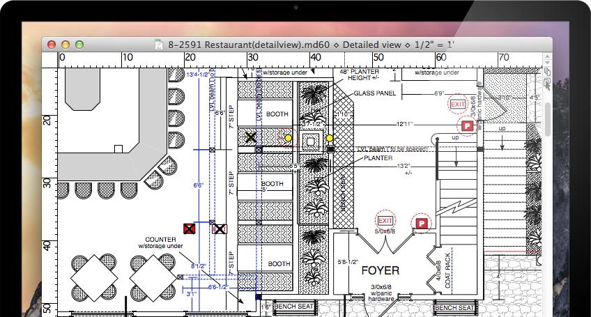 macdraft pro floor plans in minutes if floor plan design